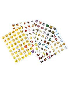 OMG!!!!! Check out what I found on Shop Jeen.com!!! What do you think?!?! EMOJI STICKERS