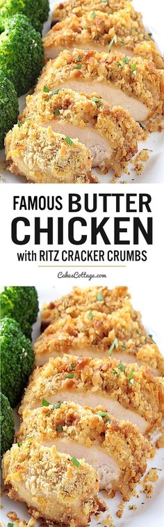 Butter Chicken with Ritz Cracker Crumbs