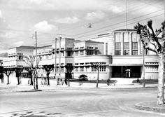 Escola Técnica do Paraná, atual UTFPR. Em foto de 5 de agosto de 1940.