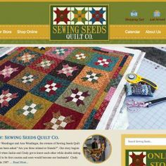View our Website Design Portfolio of past website projects! Our WordPress custom websites are designed and built so that you can manage your website. New Ulm, Quilt Shops, Portfolio Website Design, Website Designs, Online Marketing, Wordpress, Seeds, Web Design, Social Media