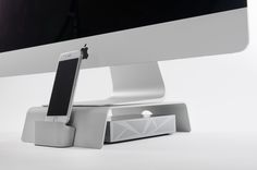 FUSION Stand: A Superb Elevating & Docking Stand for iMacs by iForte — Kickstarter