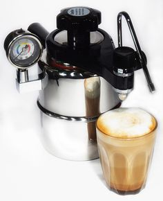 Sorrentina Coffee Online - Bellman Stainless Stove Top Coffee Maker CX25P