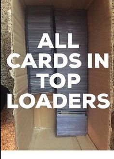 cool Huge Lot Of Sports Cards- $1500+ BV MLB NBA NFL TOP LOADERS INCLUDED - For Sale View more at http://shipperscentral.com/wp/product/huge-lot-of-sports-cards-1500-bv-mlb-nba-nfl-top-loaders-included-for-sale/