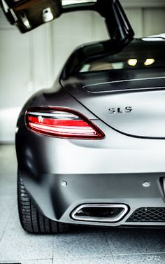 SLS a girl can love a good looking car and still be girly