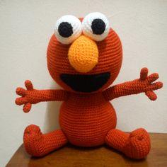 Amigurumi Elmo - FREE Crochet Pattern / Tutorial