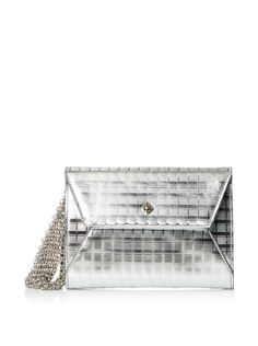 RAFE NEW YORK Women's Daisy Clutch, Silver Screen at MYHABIT