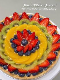 Fong's Kitchen Journal: Mixed Fruit Tarts & Happy Teachers' Day