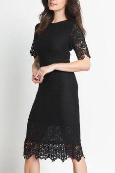 31746e88e12e Shoptiques Product: Lace Midi Dress - main Lace Midi Dress, Winter  Olympics, United