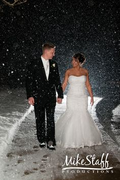 I wanna try this sometime. It looks like the shot was back lit and a flash was used. Maybe a new idea for night shots?