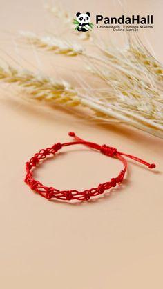 Diy Bracelets Patterns, Diy Bracelets Easy, Handmade Bracelets, Diy Crafts Jewelry, Bracelet Crafts, Macrame Jewelry, Macrame Bracelets, Diy Friendship Bracelets Patterns, Diy Braids