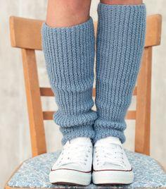 Guêtres laine tricot