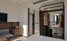 Guest room at Form Hotel, Dubai, UAE Source by wintamtowi.