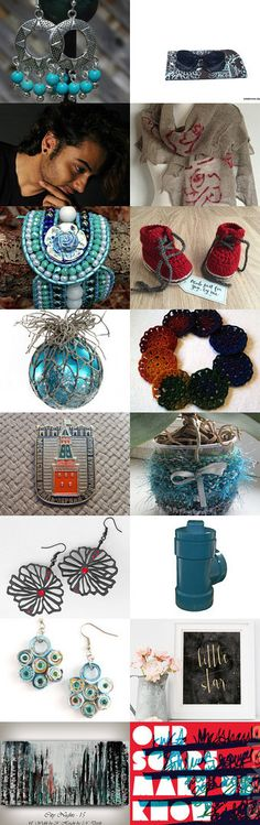 aqua accent by Beth Byrd on Etsy--Pinned+with+TreasuryPin.com