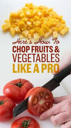 23 Produce-Chopping Tips Every Home Chef Needs To Know - Cooking Recipes 🍳 Cooking 101, Easy Cooking, Cooking Recipes, Healthy Recipes, Cooking Hacks, Cooking Classes, Cooking Pork, Cooking Ideas, Cooking Turkey
