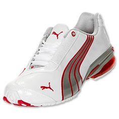 Red and white love Puma Best Sneakers, Shoes Sneakers, Puma Sneakers, Cute Running Shoes, Zapatillas Nike Jordan, Dorothy Shoes, Shoe Boots, Shoes Sandals, Baskets