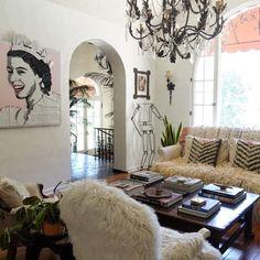 Bohemian Inspiration In A Family's Art-Filled California Home   Design*Sponge