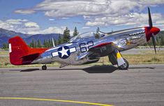 North American P-51 Mustang N151BP 44-74908 'Bunny' at the Truckee Airport Airshow in California. 2016. Tuskegee Airman Lt. Bob Friend flew Bunny during WW2.