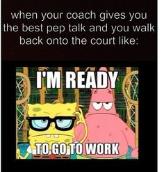 Or when your dance teacher gives u a pep talk before a competition or rehearsal haha funny gif funny girls funny hilarious funny humor funny memes Volleyball Jokes, Softball Memes, Basketball Memes, Play Volleyball, Funny Sports Memes, Basketball Is Life, Soccer Quotes, Volleyball Players, Sport Quotes