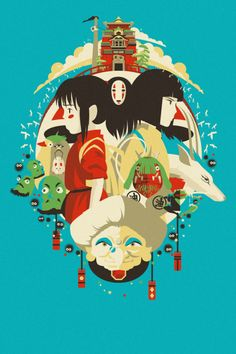 Studio Ghibli Designs - Created by Danny Haas