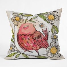 DENY Designs Cori Dantini Not A Turkey Throw Pillow