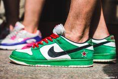 """Nike Dunk Low Pro SB """"Heineken"""""""