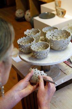 hauptsache keramik: Teelichter