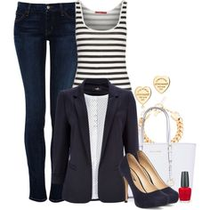"""""""navy"""" by lilly517 on Polyvore"""