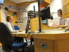 Pauline Rowson talking to Steve Harris BBC Radio Solent on the Breakfast Show 2 October 2014