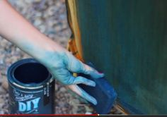 how to paint upholstery and keep the fabric soft even velvet, chalk paint, painted furniture, reupholster Painting Fabric Furniture, Paint Upholstery, Chalk Paint Furniture, Fabric Painting, Chalk Painting, Furniture Refinishing, Diy Pallet Furniture, Upholstered Furniture, Ikea Furniture
