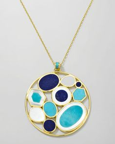 Ippolita Polished Rock Candy Multi-Stone Pendant Necklace - Bergdorf Goodman
