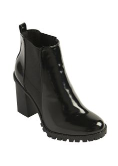 Chunky Chelsea Boots - Matalan #chelseaboots #pu #boots #ss14
