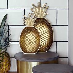 Ananas Schale, mittel