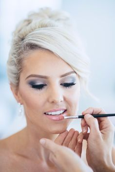Silver smokey eye: http://www.stylemepretty.com/collection/2154/