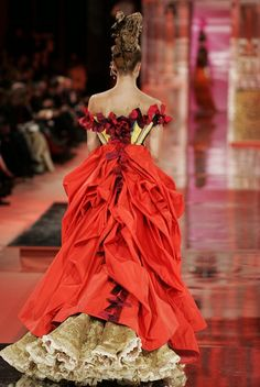 Christian Lacroix Haute Couture Spring-Summer 2005 by Christian_Lacroix, via Flickr