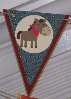 Pony / Western / Cowboy Themed Happy Birthday  by APaperPlayground, $23.50