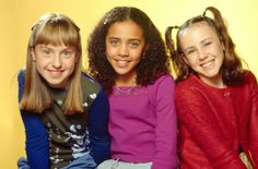 Left to right:Stevie Lake,Carol Hanson, and Lisa Atwood. I remember this show, they took it off though, they don't even show reruns:(