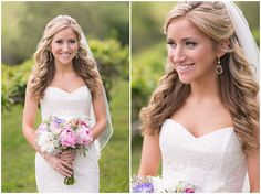 beautiful bride, spring farm wedding