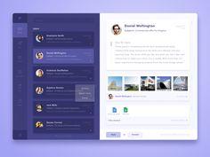 Desktop Email Client Concept by Alexandr M. #Design Popular #Dribbble #shots