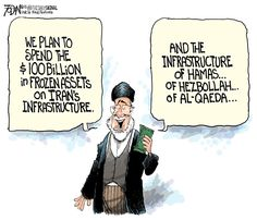 Presumptuous Politics: Millions to Iran Cartoons