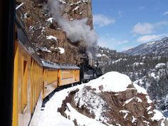 Winter Train Durango Silverton Colorado