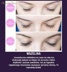 Sposób na piękne rzęsy! Domowy sposób bez wydawania majątku! Makeup Tips, Beauty Makeup, Hair Beauty, Beauty Care, Beauty Hacks, Make Up Tricks, Diy Spa, Healthy Beauty, Skin Care Tips