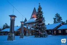 Big Xmas tree is already up & running in Santa Claus Village. Xmas is coming!