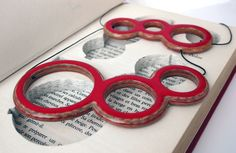 What a gorgeous necklace crafted from pages of books! serial no#: 078 - 'Le Gang' - available @ Eleni Marneri Gallery