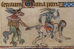 [Les Heures de Dunois, c. 1440 - c. 1450 (après 1436), Yates Thompson 3, f. 143v, The British Library. (clique, si tu l'ose)]