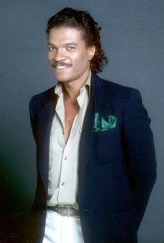 Actor Billy Dee Williams is celebrated for his good looks — deep eyes, soft hair, nice smile — but it's the sex appeal he exudes when wearing slick separates that has us praising his style.