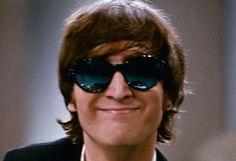 #JohnLennon, 1965.   #music #musica #Beatles