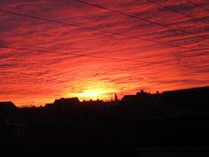 Lovely sunrise on Amager.