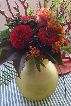 Blumenstraus (Vase: Guaxs Yeola S gold)