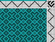 Xs weave draft