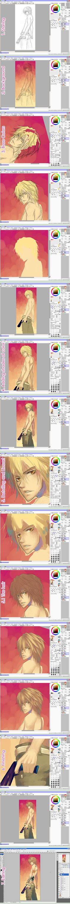 Tutorial: Painting by *Celsa  I need to learn how to use these programs